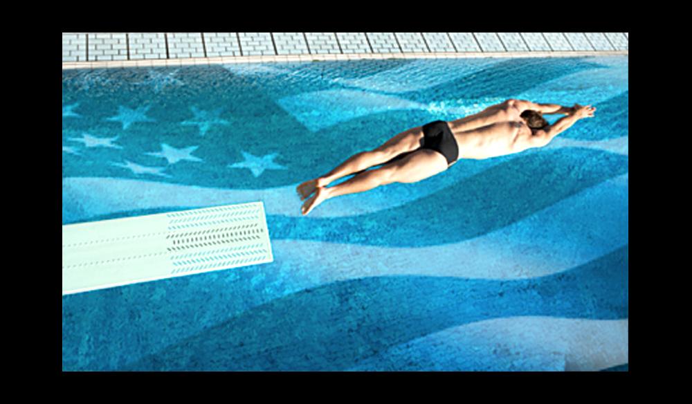 US pool diver